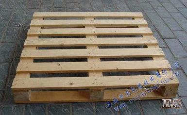 实木托盘(四面进叉)9只脚柱