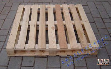 实木托盘(四面进叉)双面结构