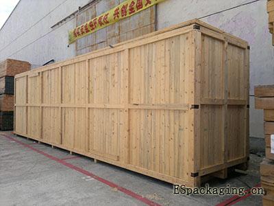 加长载重木质包装箱