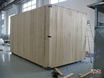 木箱包装封箱完毕