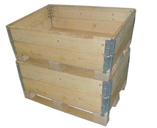 围板折叠包装箱