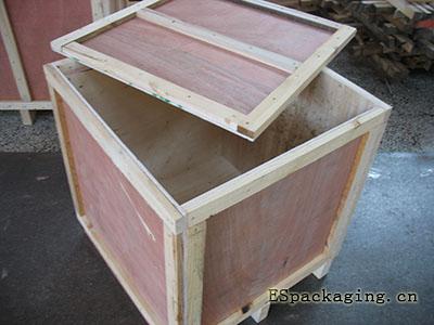 实木夹板箱