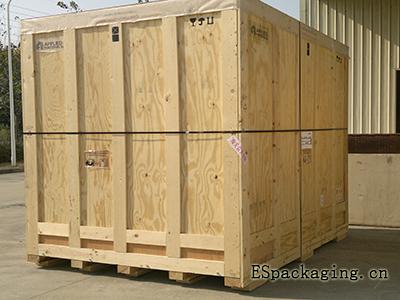木箱框架结构图